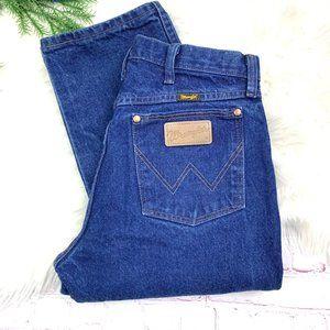 👖|•WRANGLER•| True Cowboy Style Jeans 30x36 Long